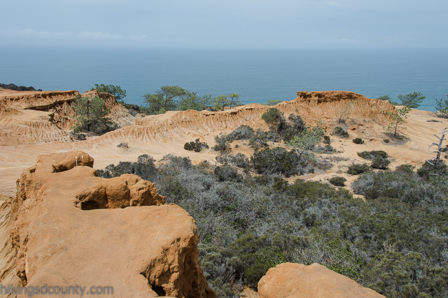 Awesome views can be found in every direction at Broken Hill overlook at Torrey Pines