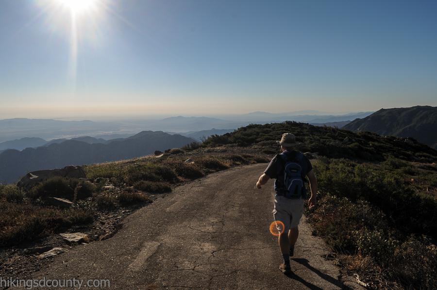 Hiking Monument Peak