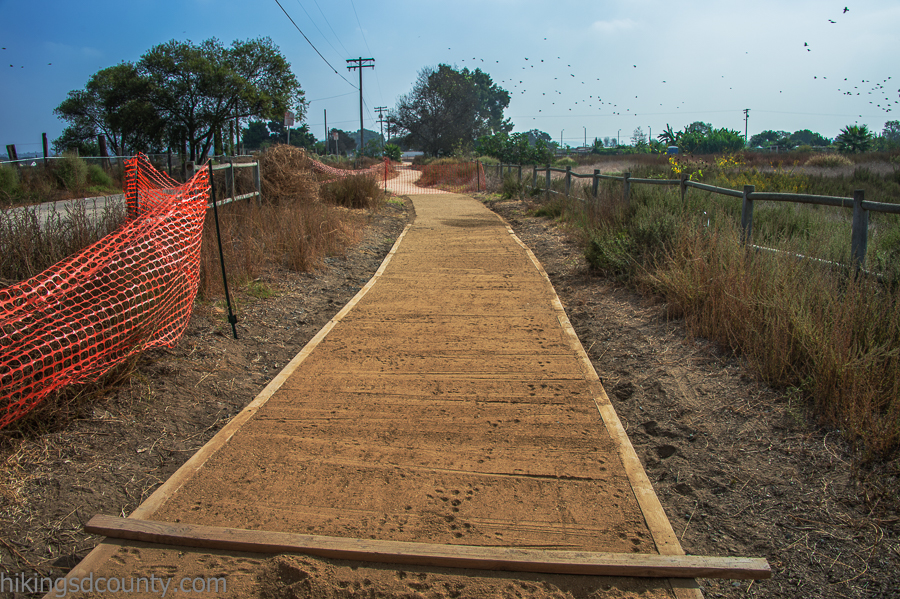 More evidence of ongoing trail improvement projects