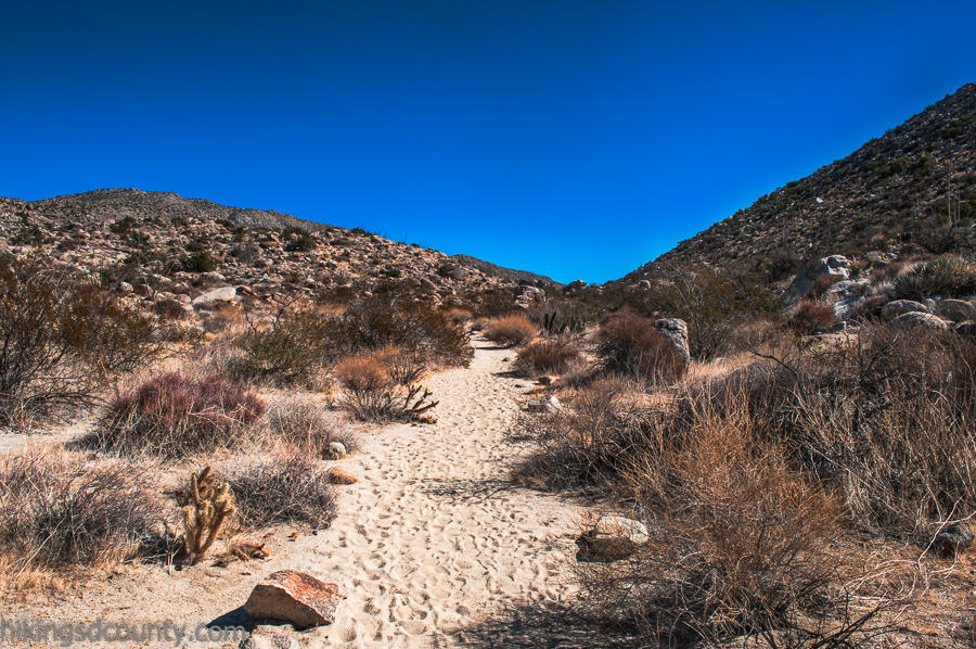 The Pictograph trail at Anza Borrego Desert State Park