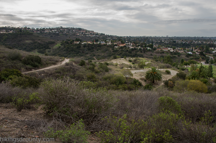 Overlooking Rancho Mission Canyon Park