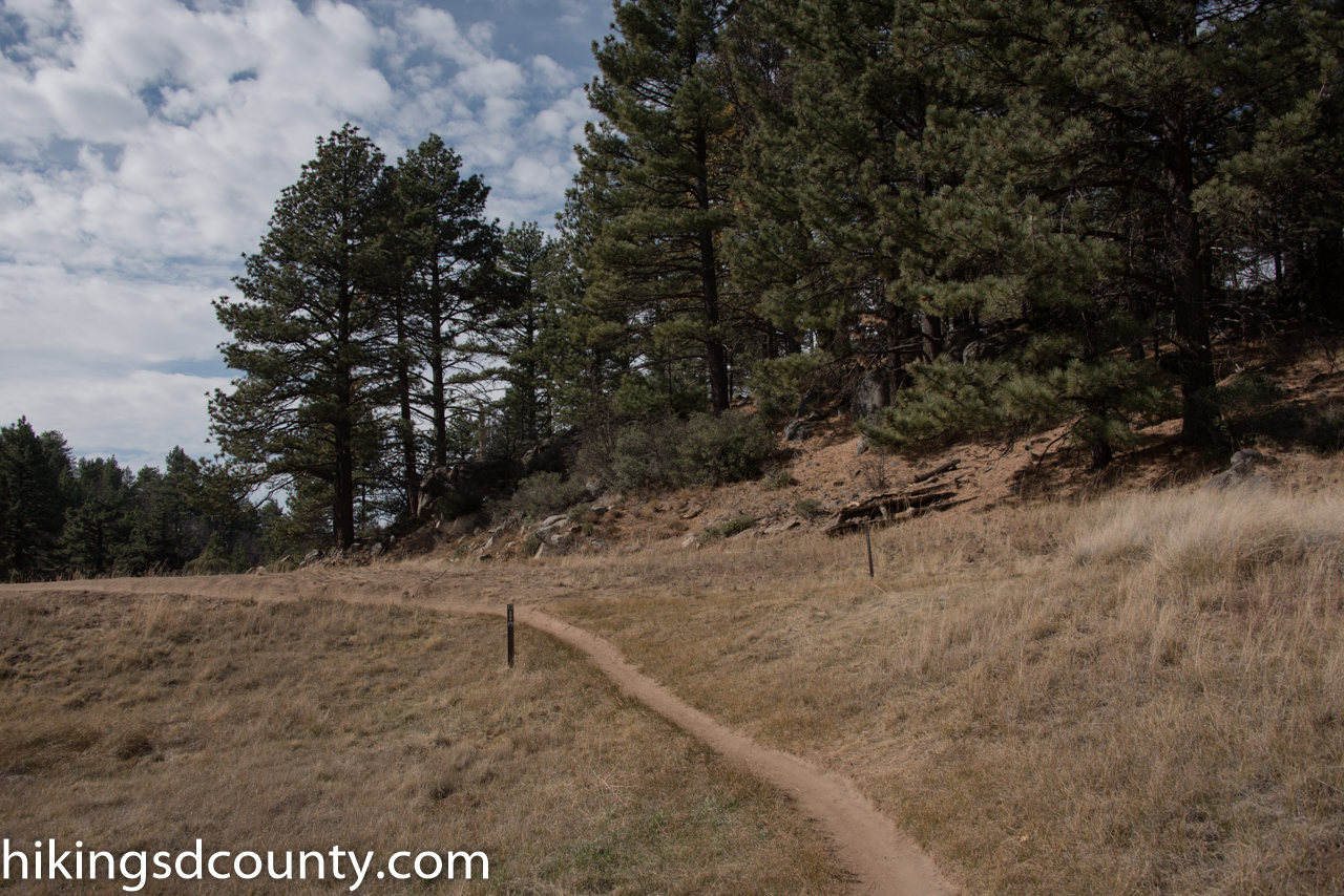 Sunset Trail Big Laguna Loop Hiking San Diego County