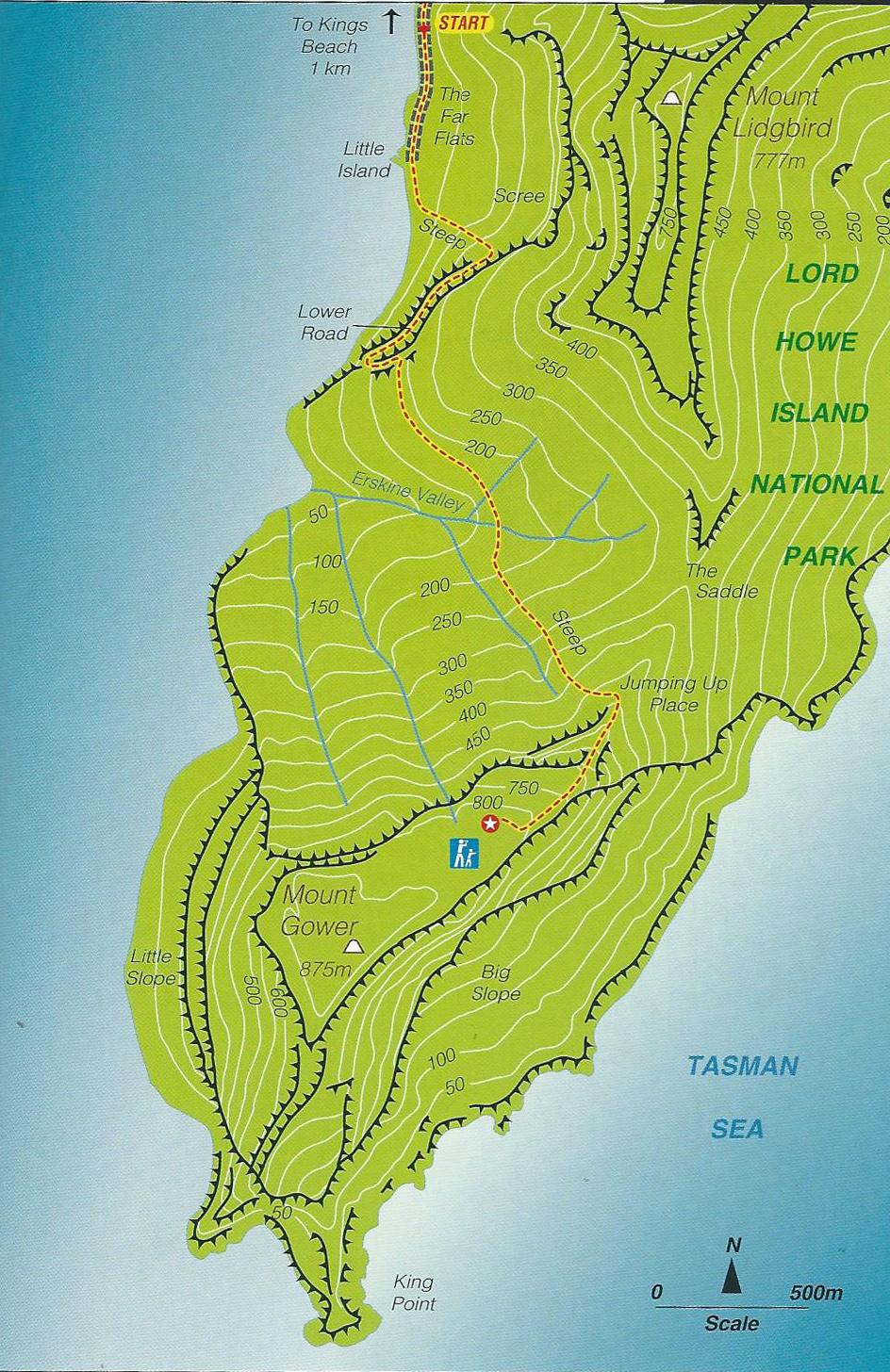 Map-MtGower