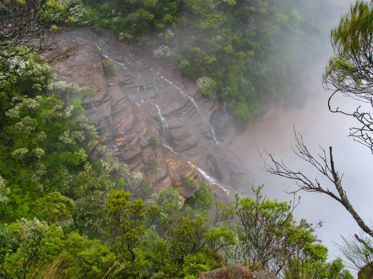 Wentworth Falls from Fletchers Lookout