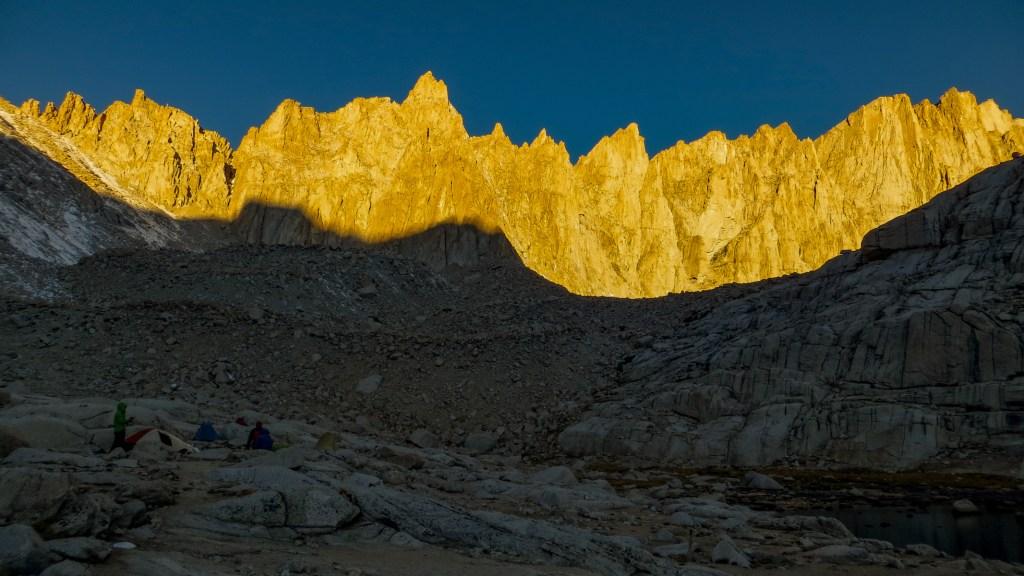 Morning light on Pinnacle Ridge