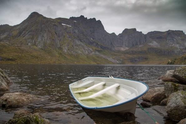 Storvatnet, with Stjernfjellet behind