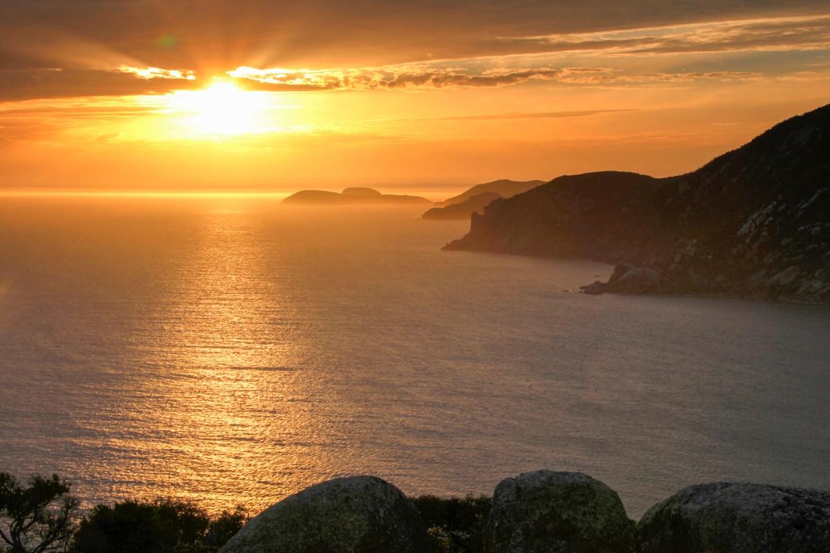Sunset from Lightstation