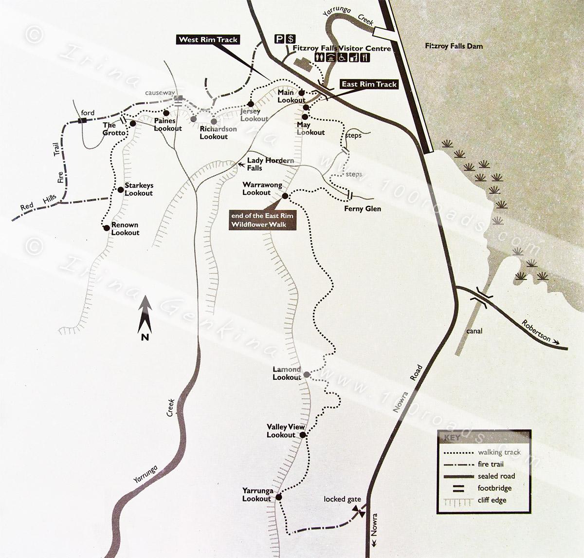 fitzroy_falls_area_map