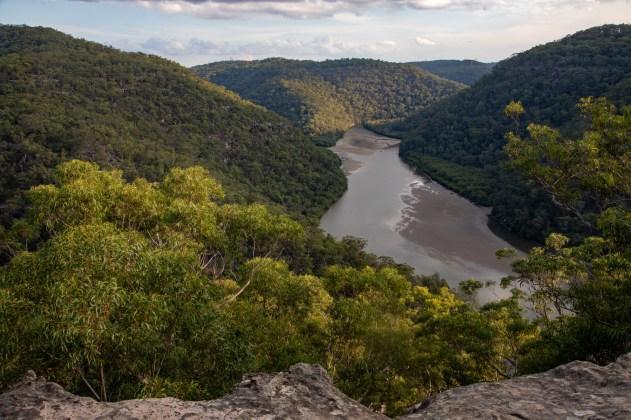 Naa Badu Lookout lookout over Berowra Creek