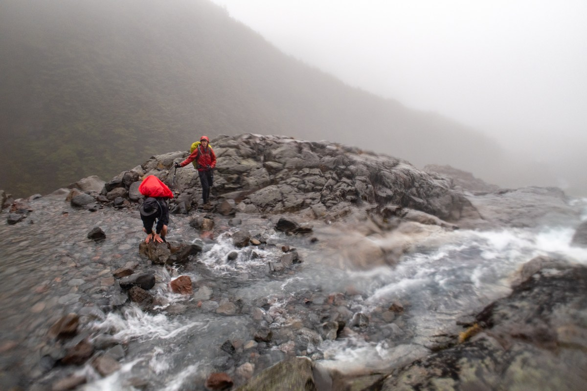 Crossing Mangaturuturu River