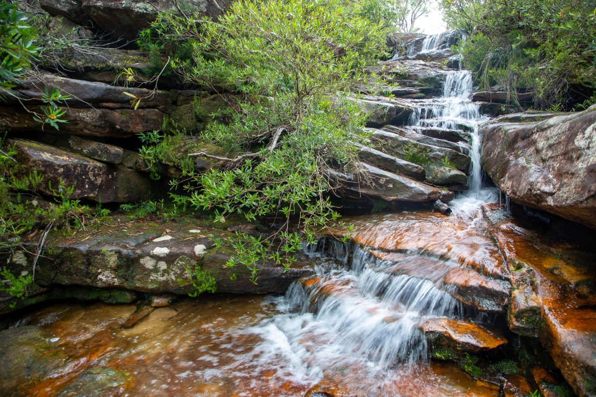 Emerald Pool Falls