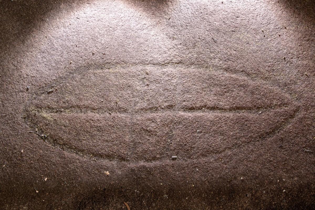 awat8424 lr Berowra Waters (Turner Firetrail) Rockshelter