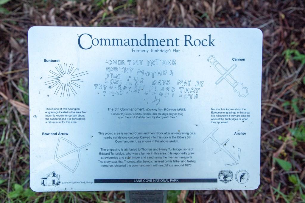 IMG 5288 LR Commandment Rock (Lane Cove)
