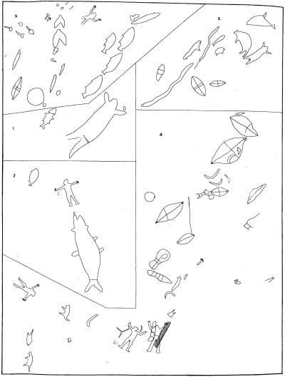 Site sketch of Bantry Bay Aboriginal Site