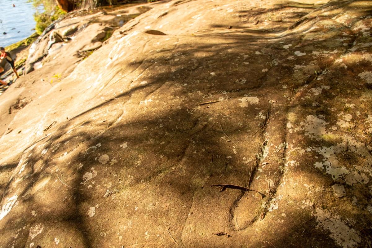 IMG 5188 LR Washtub Gully engravings (Berowra Waters)