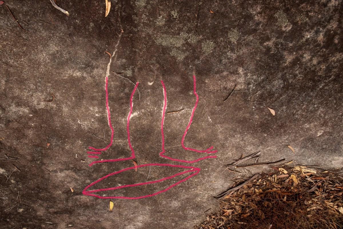 IMG 7394 LR highlighted Spirits Rock (Cowan Trail)