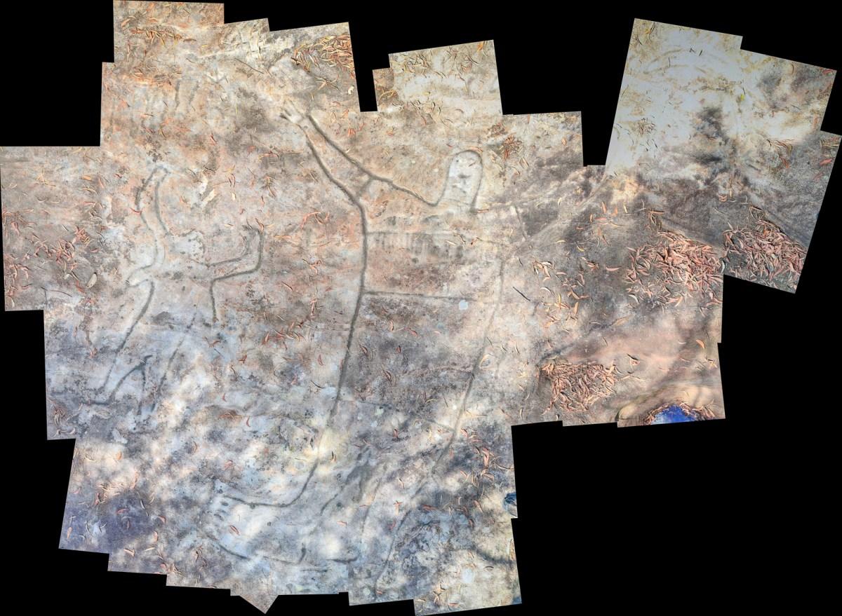 Montage1 stitch edited LR Mt Ku-ring-gai Aboriginal site