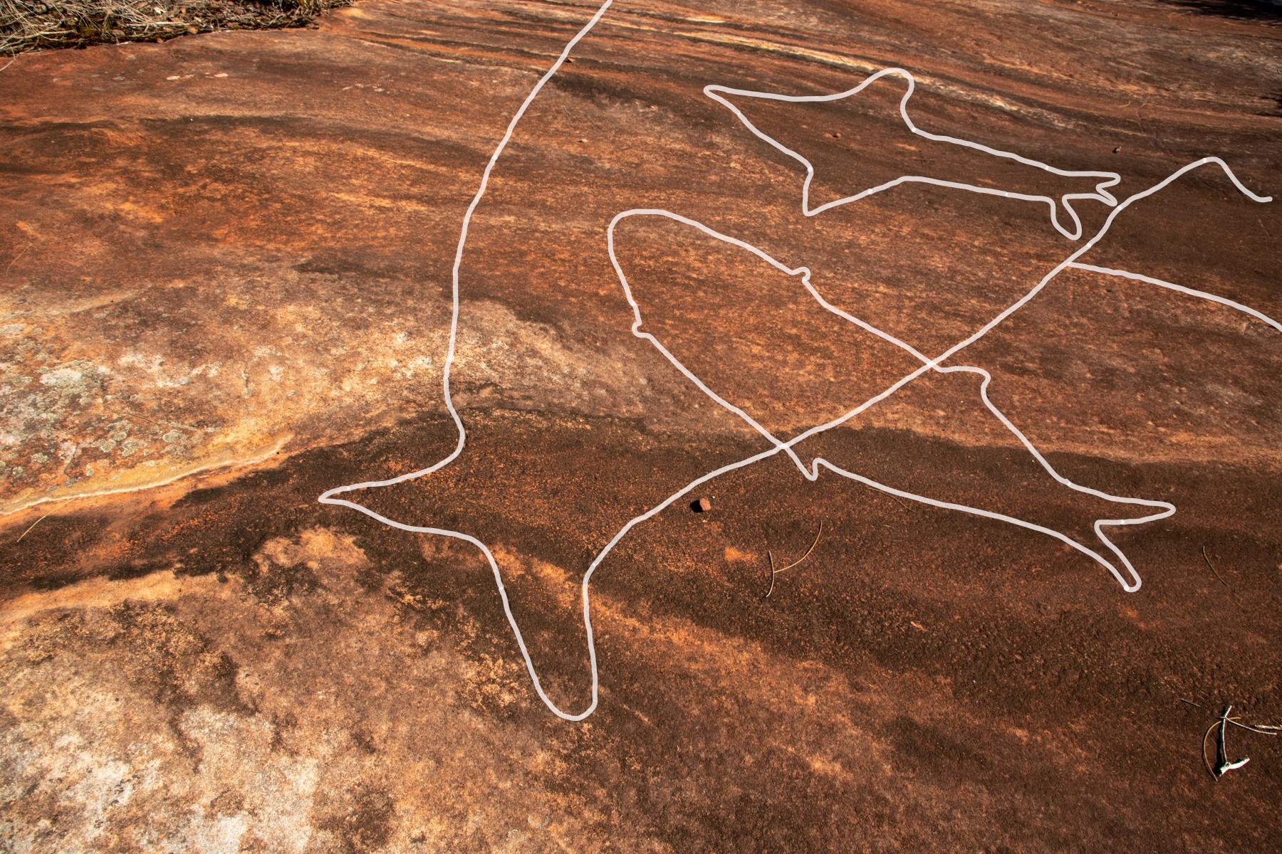 IMG 7603 LR highlighted Basin and Mackerel Track Aboriginal sites