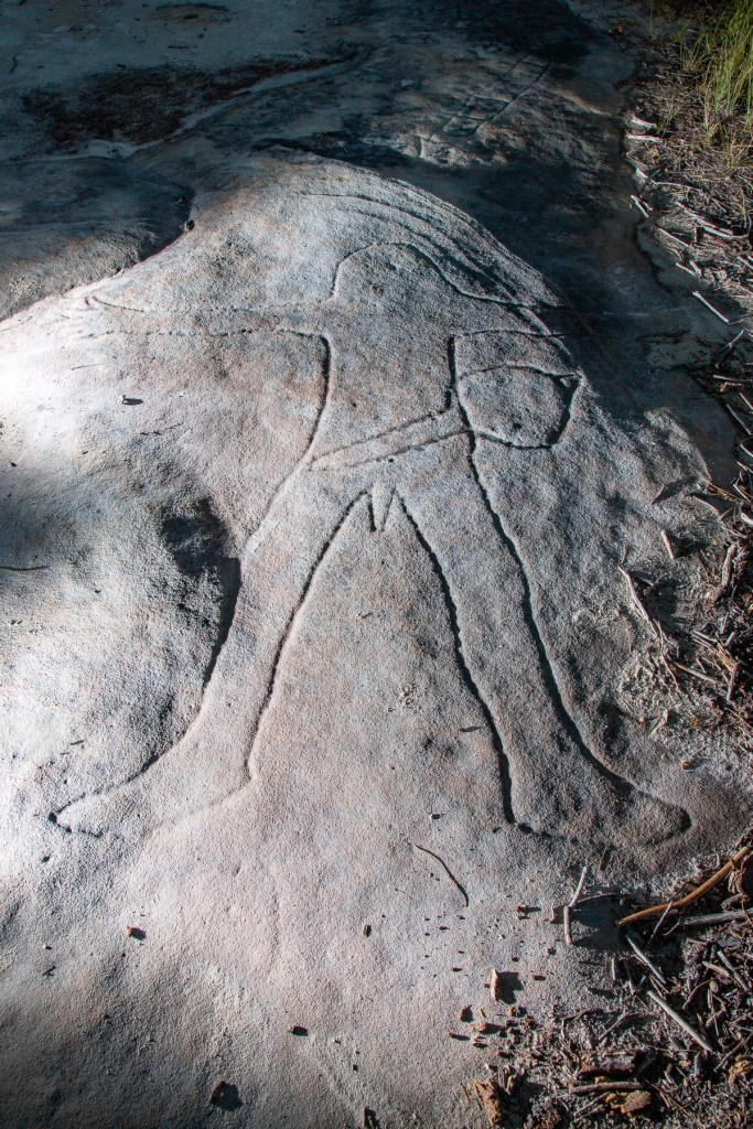 AWAT7144 LR Resolute Track Aboriginal engraving sites