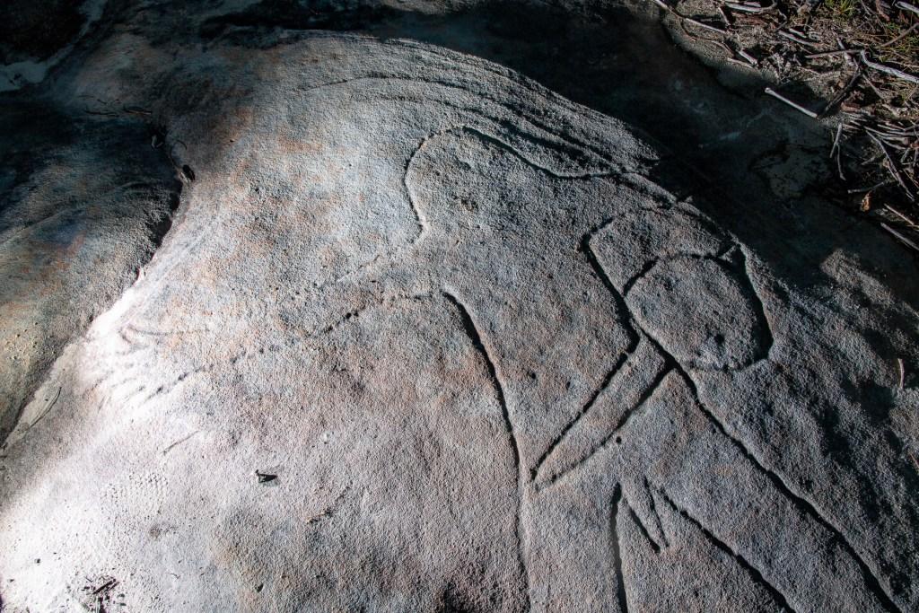 AWAT7145 LR Resolute Track Aboriginal Engraving Site