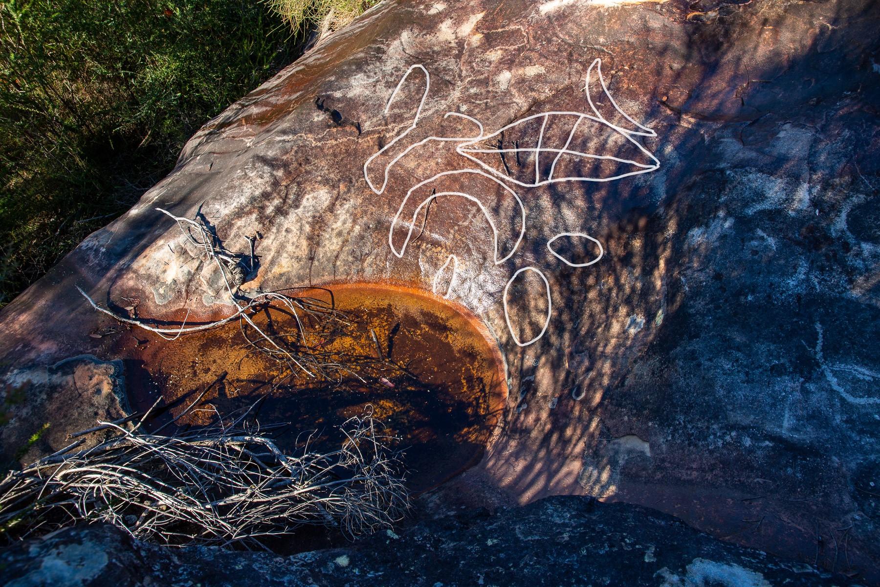 AWAT8349 LR highlighted 1 Mount Murray Anderson West - Waterhole