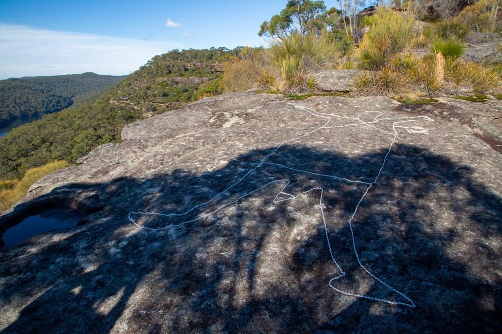 AWAT9020 LR Mount Murray Anderson Aboriginal engraving sites