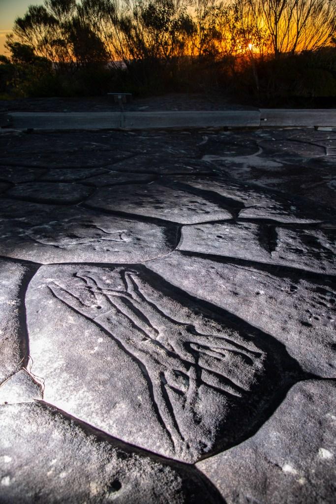 AWAT3998 LR Photographing Aboriginal rock art