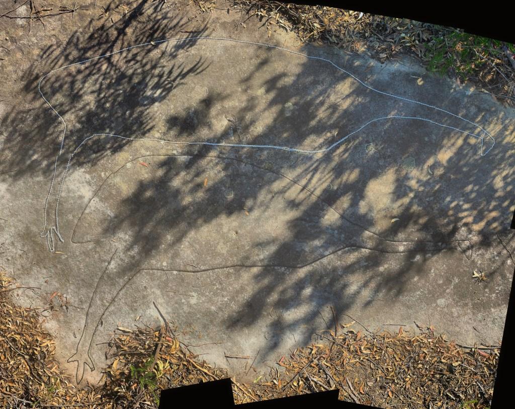 Montage2 stitch LR 1 Photographing Aboriginal rock art