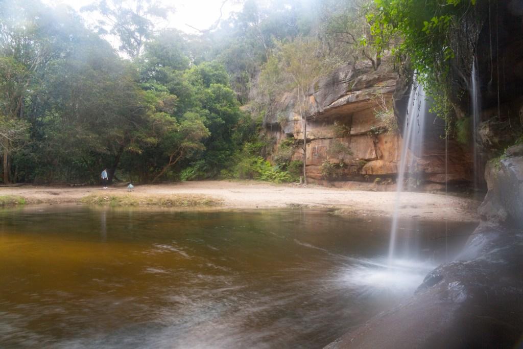 Irrawong Waterfall or Mullet Creek Falls
