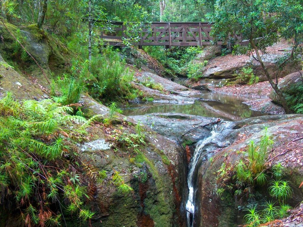 Boarding House Dam waterfall