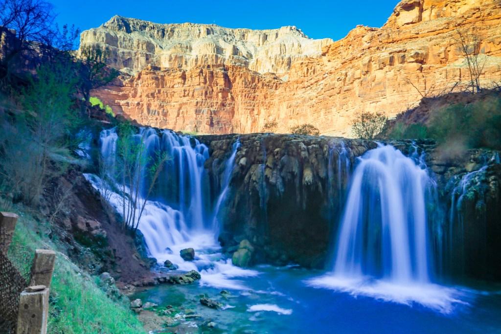 Lower Navajo Falls or Rock Falls