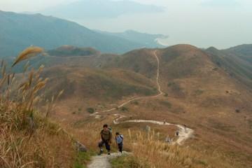 HPIM2692 LR Hiking the Lantau Trail - Mui Wo to the Big Buddha