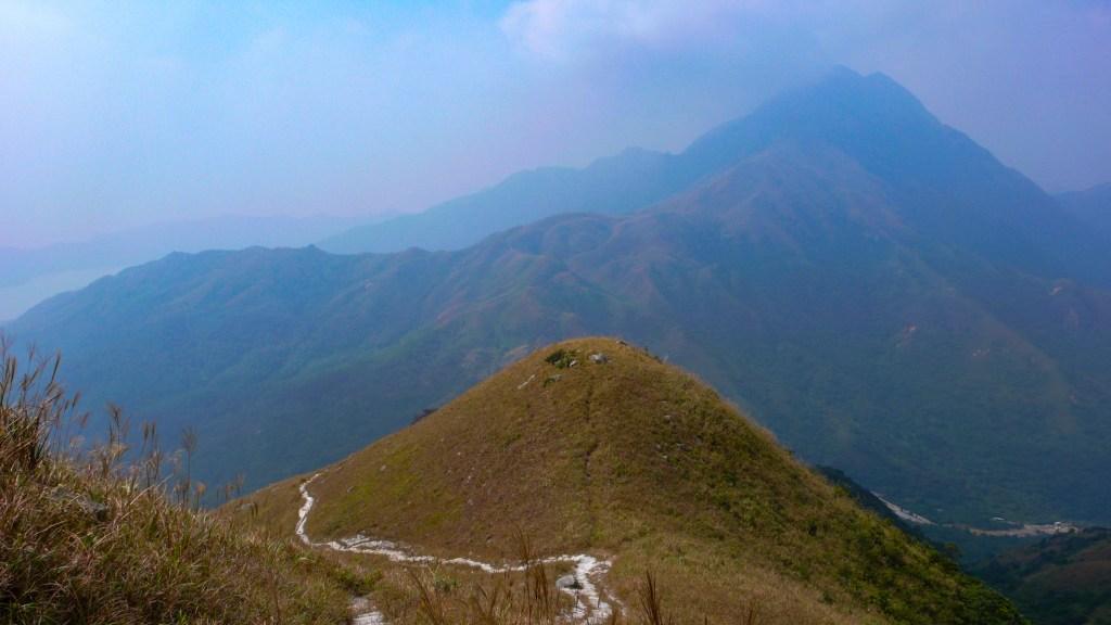 Sunset Peak along the Lantau Trail