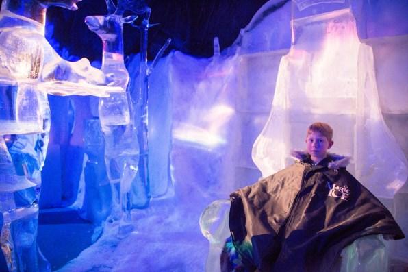 Magic Ice in Svolvaer