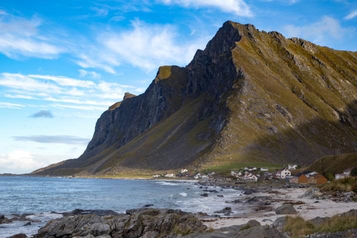 Vikten, on the seaward side of Flakstadøya island