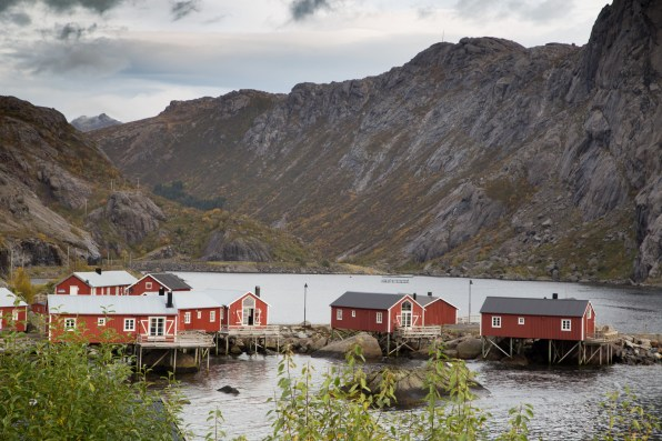Nusfjord, an authentic fishing village