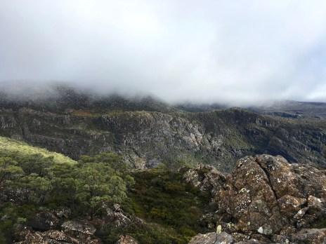 A rocky outcrop near Lake Seal