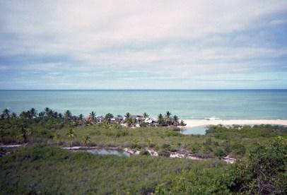 Pogled prema Atlantiku - Trancoso Quadrado, Bahia 1997.