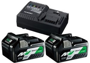 Hikoki Shop Hikoki 36V Booster Pack BSL36A18x2 + UC18YSL3
