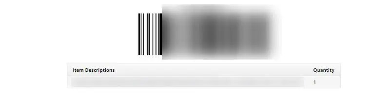 返品コード