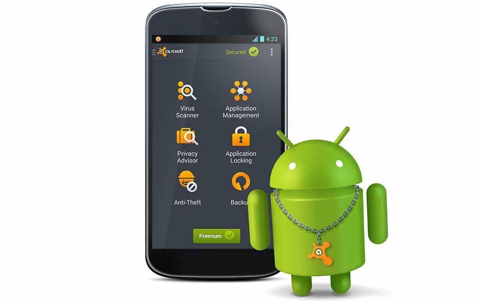 Android Antivirüs Programı Avast Mobil Security