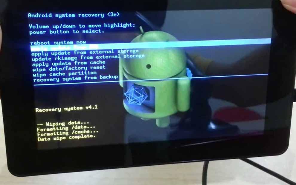 Tablete Format Nasıl Atılır Android Format Atma