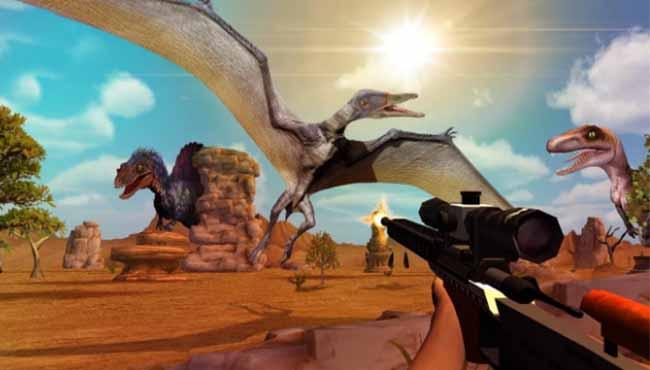 Dinosaur Safari Hunt: Android Arcade Oyunu indir