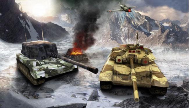 Ağır Ordu Savaşı Tankı Sürüş Simülatörü Battle 3d
