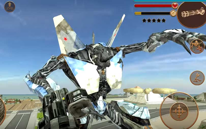 Air Bot Android Aksiyon Oyunu İndir apk