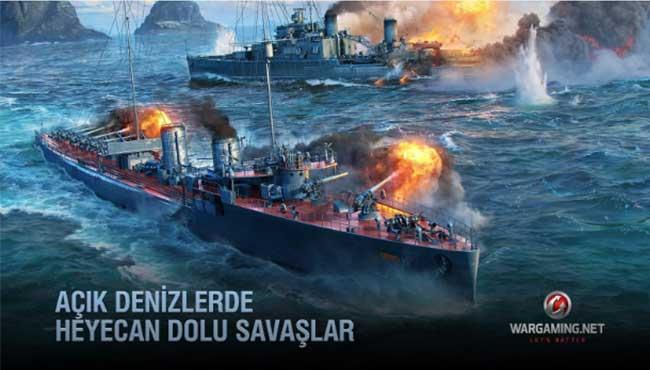 World of Warships Blitz: Android Savaş Oyunu