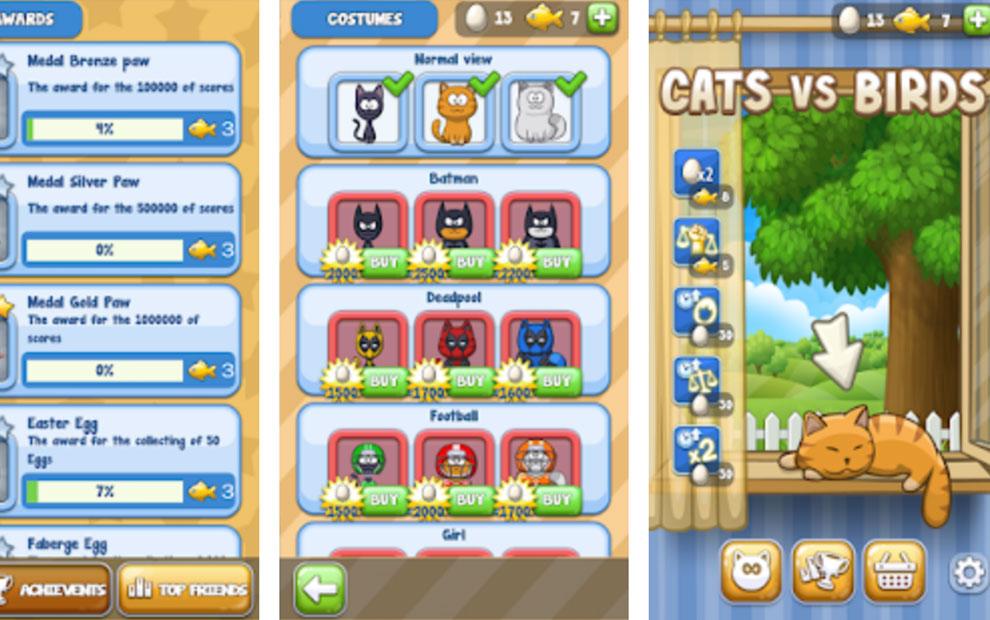 Сats vs Birds: Arcade Oyunu İndir