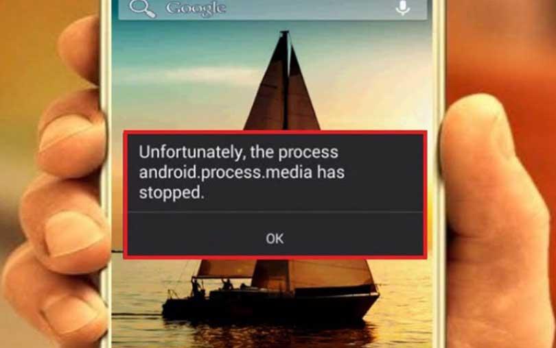 Android Process Media İşlemi Durduruldu Hatası