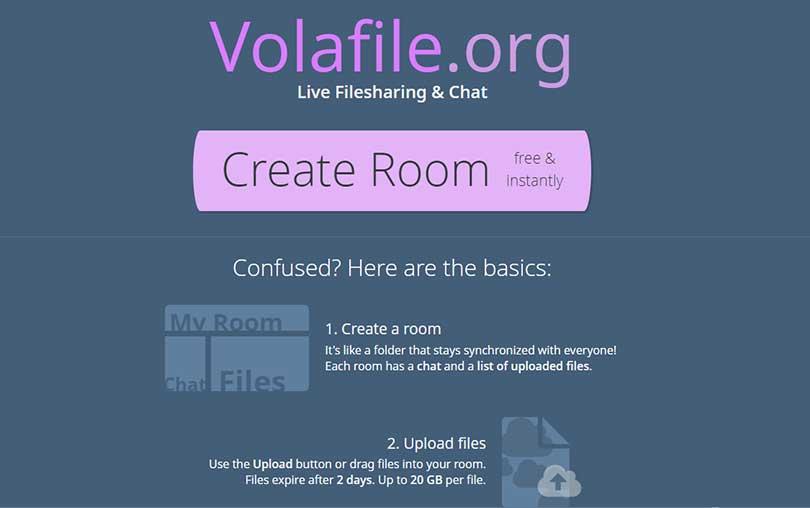 Çevrimiçi Dosya Paylaşımı ve Sohbet Sitesi