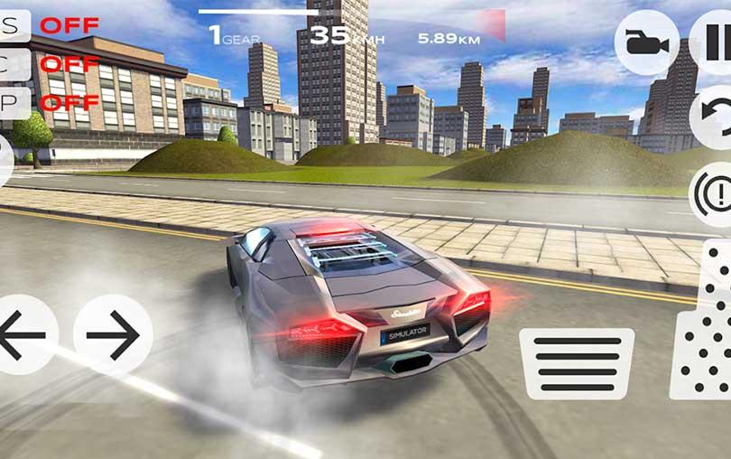 Extreme Car Driving Simulator Android Oyunu indir